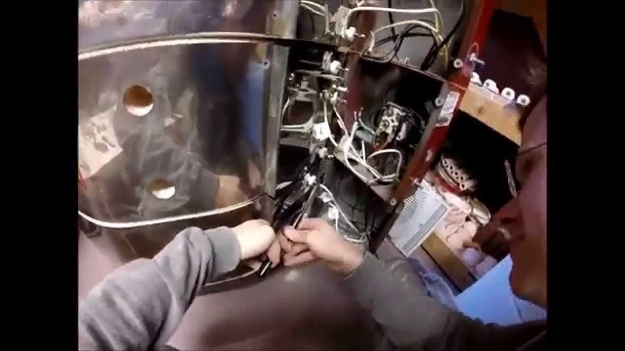 Pottery: Replacing Kiln Elements - Time Lapse