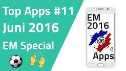 Die besten Apps zur EM 2016