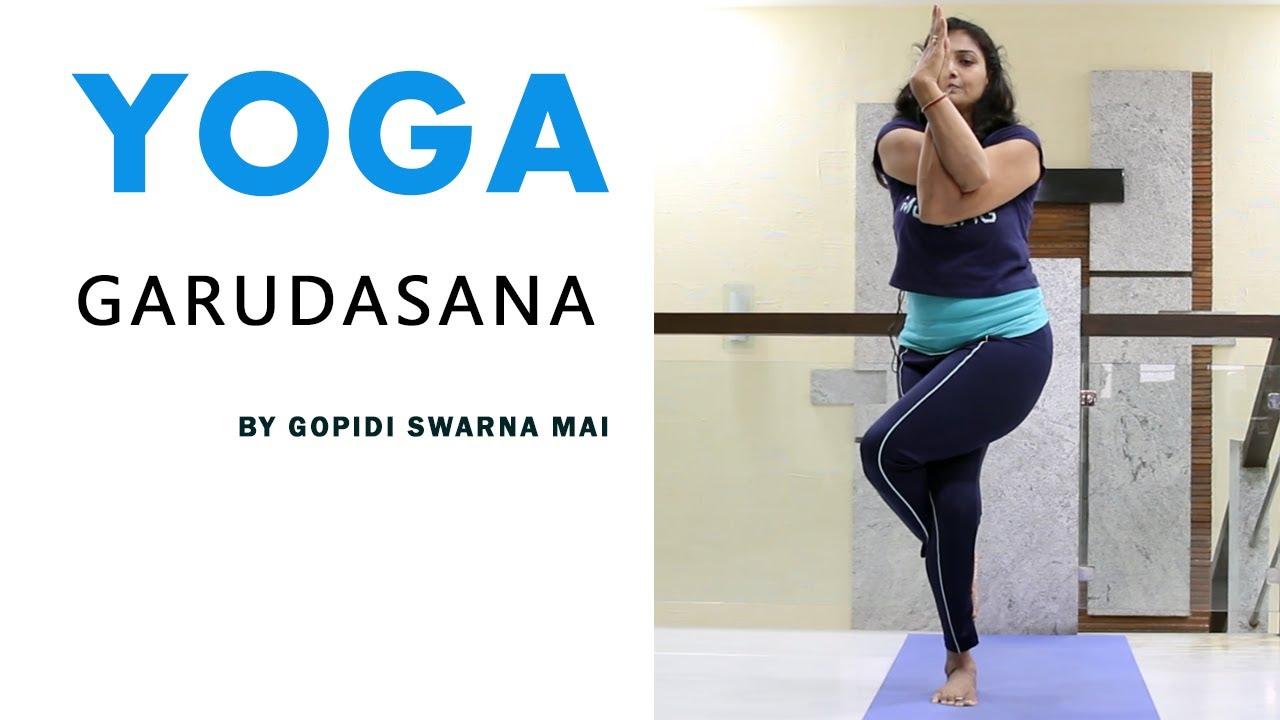 Yoga | Standing | Class 7 | Garudasana By Gopidi Swarna ...