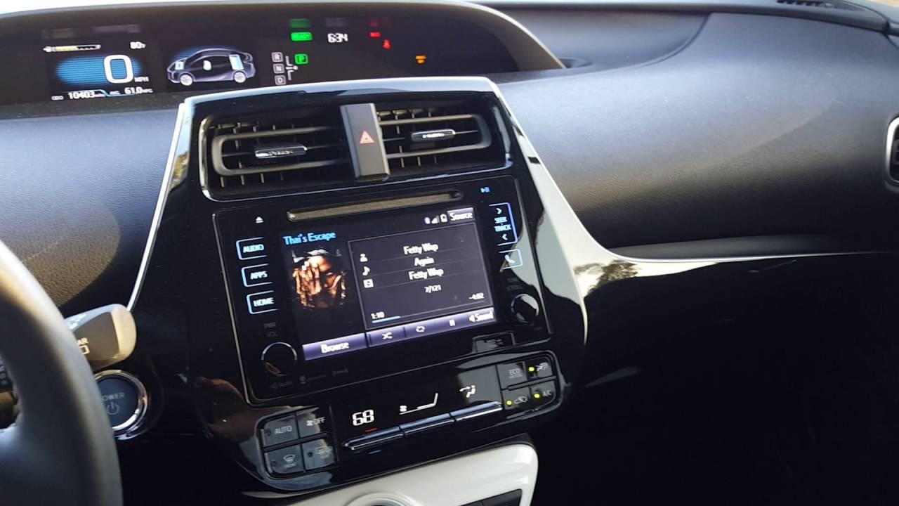 2016 Prius Aftermarket Sound System