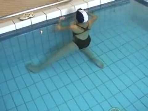 Extrêmement Exercices pour lombalgiques en petite piscine - YouTube NT41