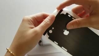 MojoSkins Installation Video - iPhone 6 Brushed Metal Skin