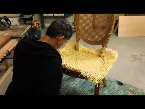 How to Re-Cane a Chair