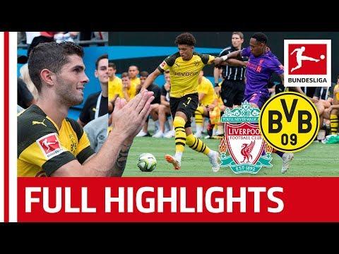 Liverpool FC vs Borussia Dortmund | 1-3 | Highlights 2018