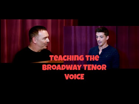 Ep #17 - Teaching The Broadway Tenor Voice - Jeff Alani Stanfill