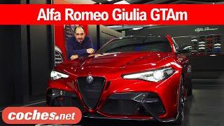 Alfa Romeo Giulia GTAm | Primer vistazo / Review en español | coches.net