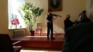 "B.Dobosarschi.,,Oleandra si Hora"".Mihai Mangîr 9 ani.Concursul,,Antonina Lucinschi"""
