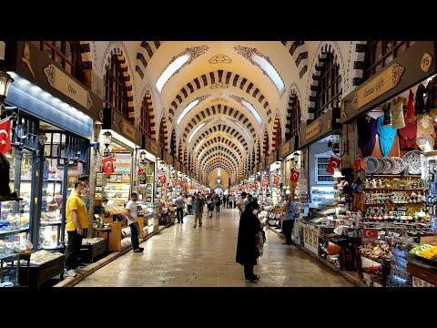 اجمل سوق اسطنبول البازار الكبير 🥰 السوق المصري 😘 شوفوا جمال البوسفور في اسطنبول