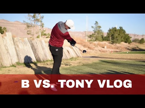 GOLF Student Vs Teacher MATCH VLOG at Royal Links Las Vegas 6 holes PART 1