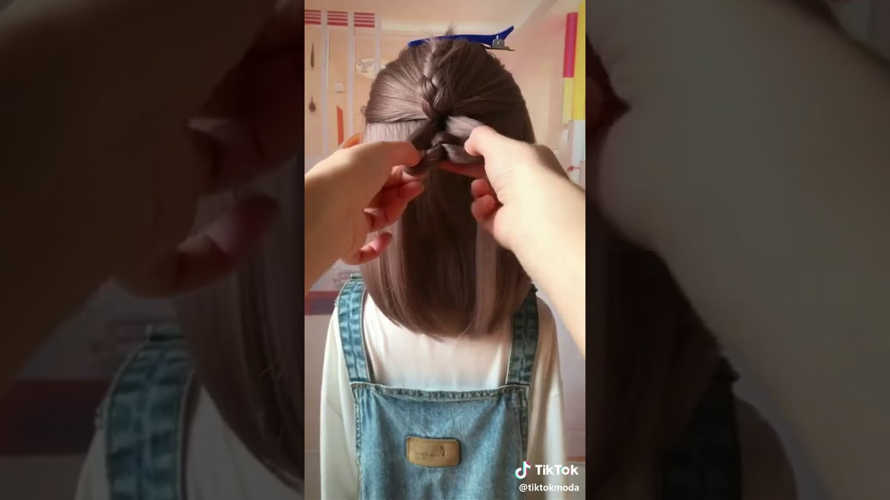 Cute hair style for girls