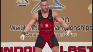 2012 European Championships Men 105 Kg