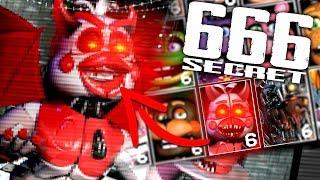 Ultimate Custom Night SECRET 666 Mode... Unlocking Demonic Funtime Chica! (SECRET MODE)