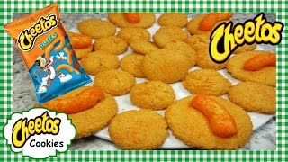 How to Make Cheetos Cookies ~ Cheesy Cheetos Puffs Cookie Recipe