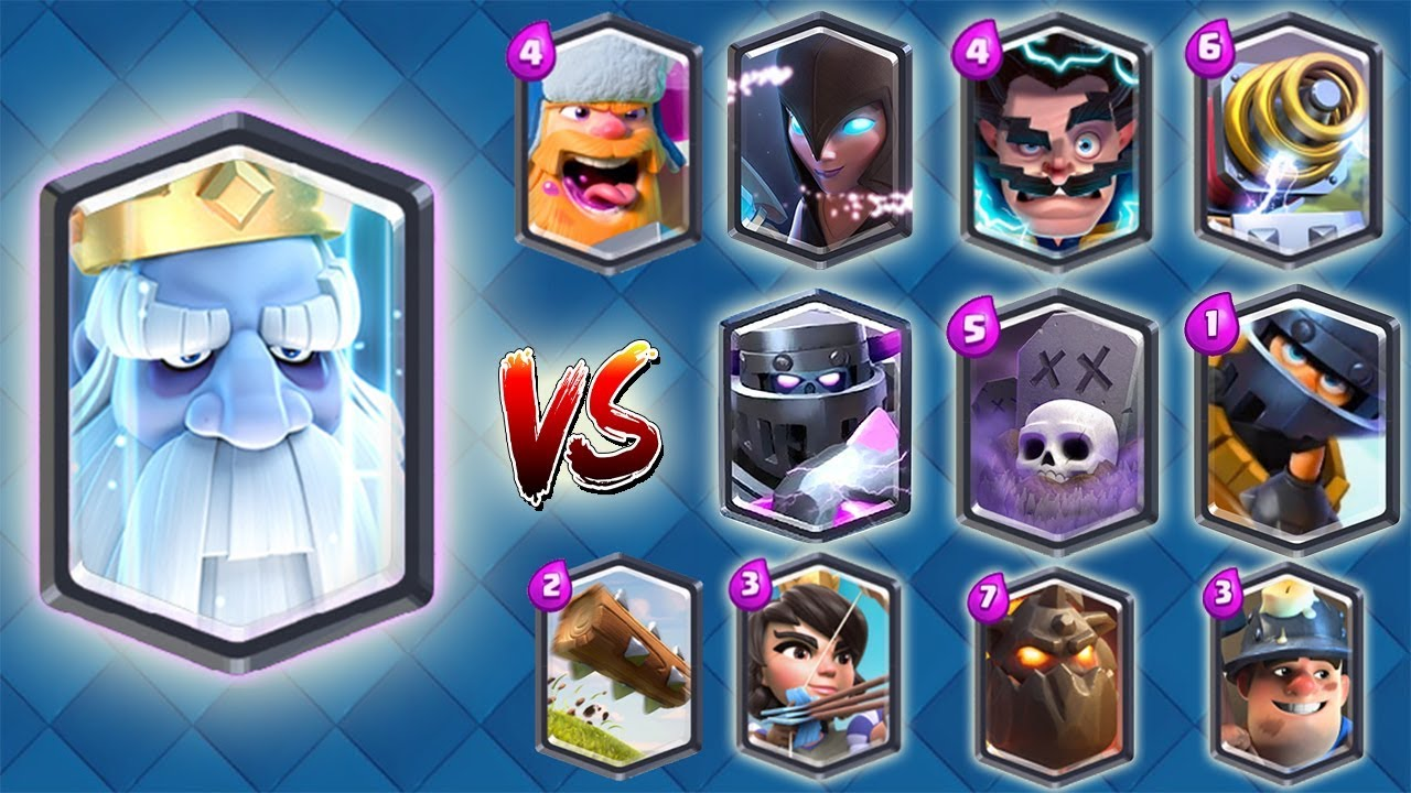 New Troop Vs All Legendary Cards Clash Royale 1 Vs 1 Update Gameplay