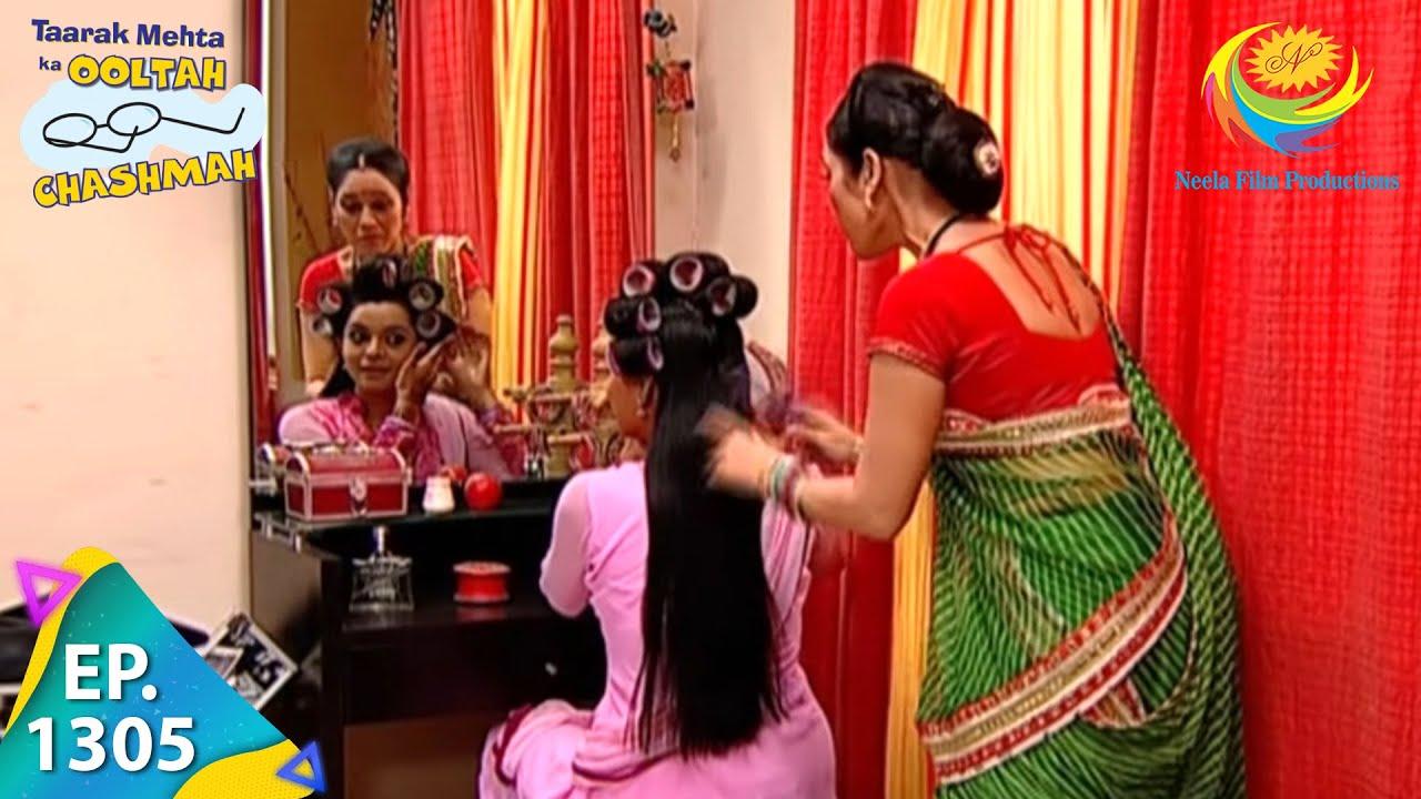 Download Taarak Mehta Ka Ooltah Chashmah - Episode 1305 - Full Episode