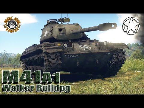 "War Thunder: M41A1 ""Walker Bulldog"", American Tier-4 Light Tank"