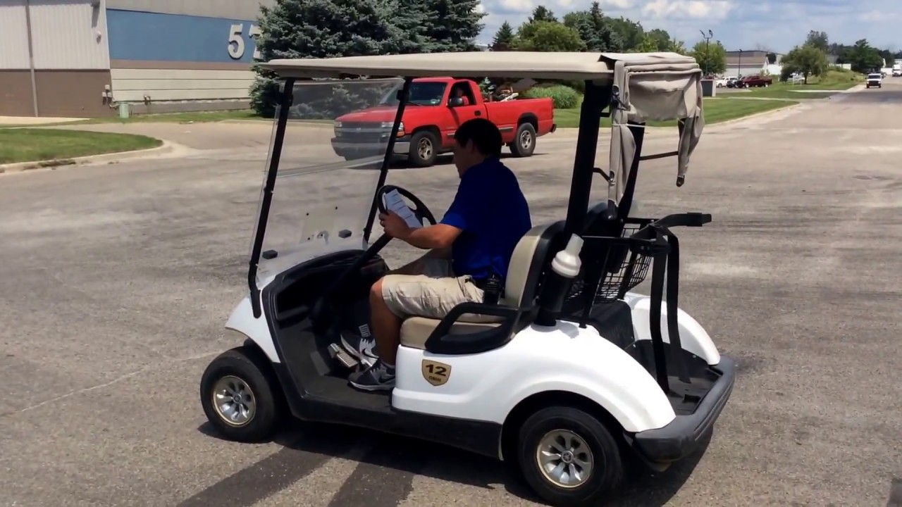 2011 Yamaha YDRE Yamaha Drive Electric golf cart | For Sale | Online Auction