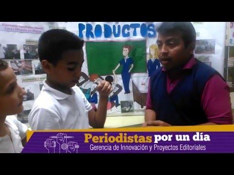 """Los alumnos de Manuel Siso Rodríguez  participaron en """"Periodistas por un día"""""""