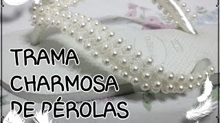 HAVAIANA CHARMOSA DE PÉROLAS