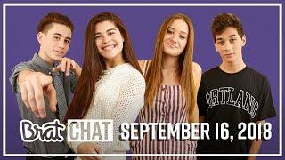 BRAT CHAT | Brandon, Mason & Jules | 9.16.18