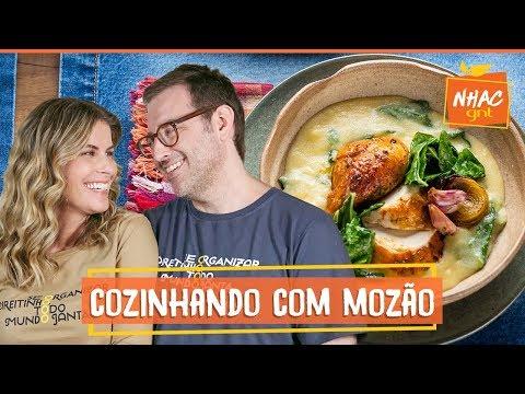 Frango assado: Rita e seu marido preparam refeição com especiarias  Rita Lobo  Cozinha Prática