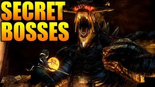 Top 10 CRAZIEST Secret Bosses In Video Games!