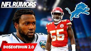 NFL Trade Block/ Draft Rumors/ Free Agency: Detroit Lions Talk