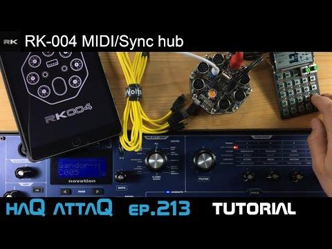 Retrokits RK-004 MIDI/Sync hub │MyVolts 5-way Boutique USB - haQ attaQ 213