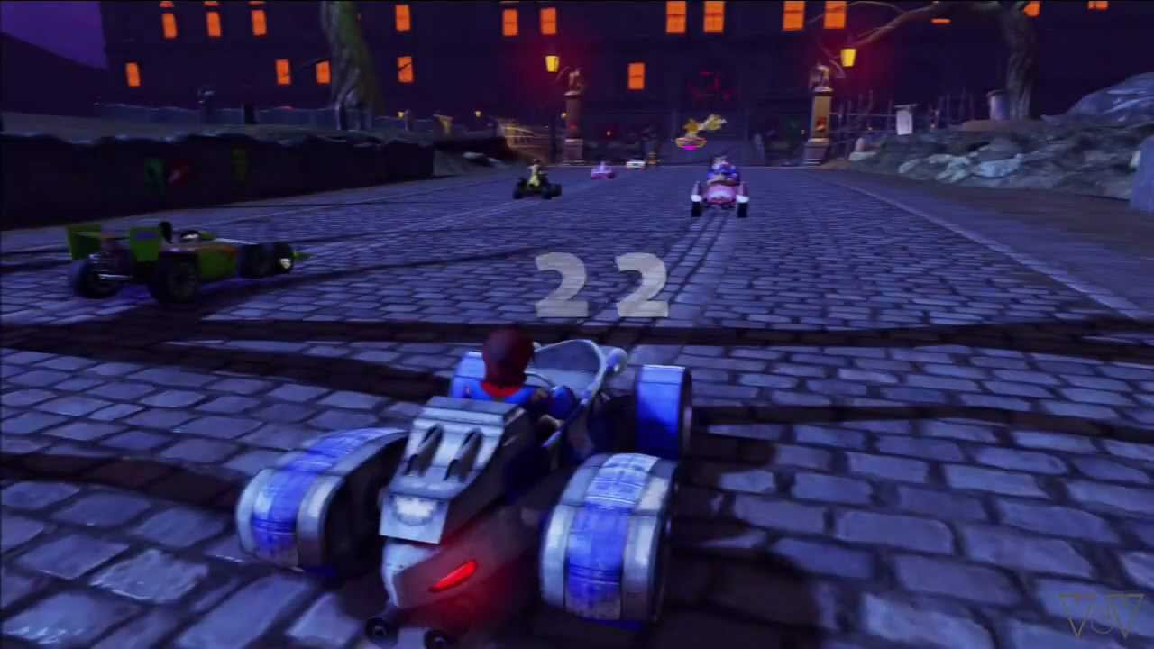House Of Tracks Of Sonic All Stars Racing Transformed Tracks Graveyard