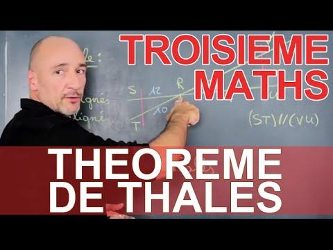 Théorème de Thalès - Maths 3e - Les Bons Profs
