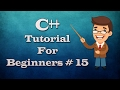 C++ Tutorial for Beginners - The if else if else Statement and its use .