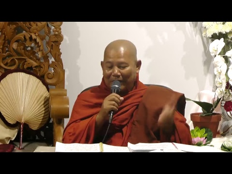 (22-May-2018 07:30 PM) Baddanta TuSitta Bhivumsa AloTawPyi Dhamma Saria University