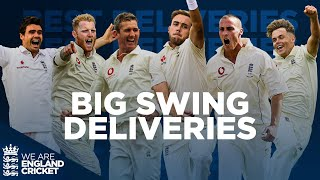 HUGE Swing! | Stokes, Anderson, Jones & More! | Best Ever Deliveries! | England Cricket