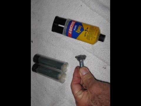 Epoxy repair use home automotive metal by froggy