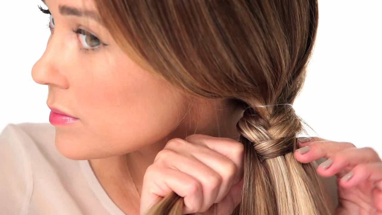 THE FISHTAIL BRAID YouTube