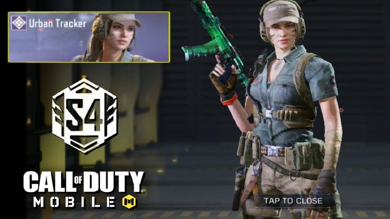 New Urban Tracker Gameplay In Call Of Duty Mobile Battle Royale