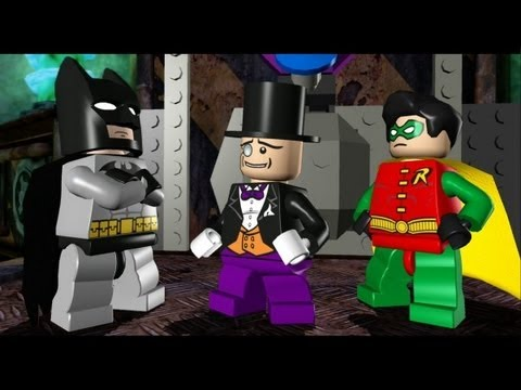 LEGO Batman 100% Guide - Episode 2-5 - Penguin