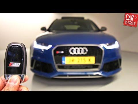 INSIDE the NEW Audi RS6 Performance 2017 Akrapovic   Interior Exterior DETAILS w/ REVS