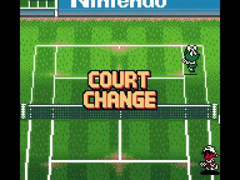 Game Boy Color Longplay [065] Mario Tennis