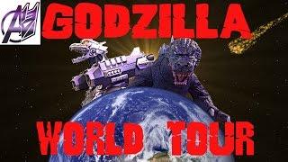 Godzilla [World Tour]- Godzilla vs MechaGodzilla Stop Motion