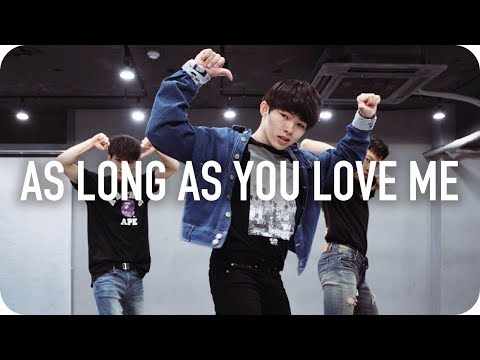 As long as you love me - Justin Bieber ft. Big Sean / Jun Liu Choreography
