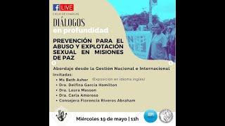 Diálogos en profundidad sobre Prevención para el Abuso y explotación sexual en Misiones de paz (2)