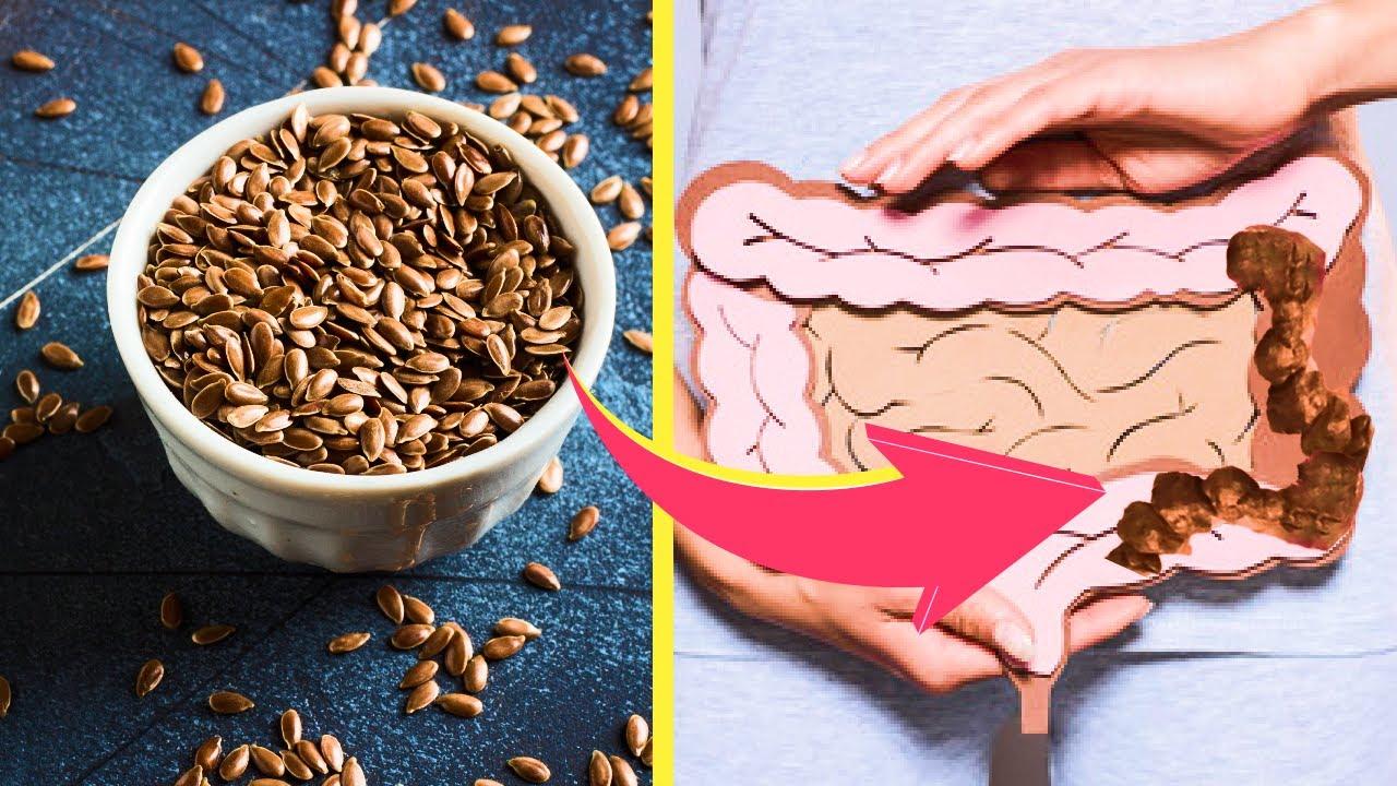 Semințe de in pentru curățarea colonului - Doza de Sănătate