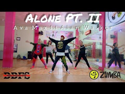 Alan Walker Ava Max - Alone Pt II  ZUMBA  FITNESS  At Balikpapan
