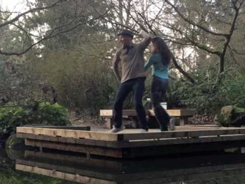 Fusion Dance Improv  -- Ari Levitt & Flouer Evelyn (Seattle, WA) Feb, 2016