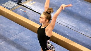 Balance Beam in Front of the Judges! | Whitney Bjerken Gymnastics