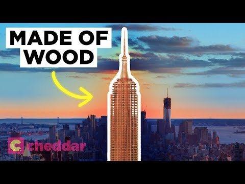 Wooden Skyscrapers Are On The Rise - Cheddar Explains