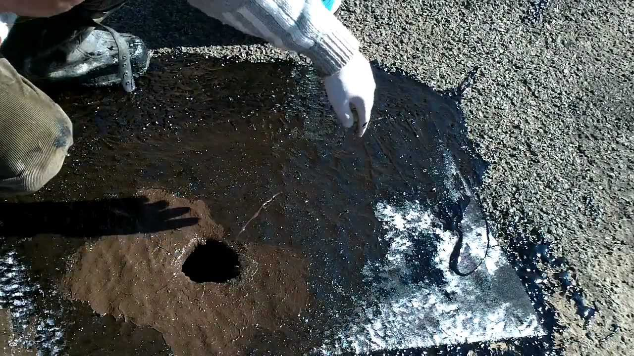 How To Seal A Roof Drain Youtube