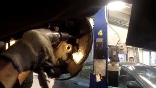 Замена тормозных дисков. Как не нужно делать / Replacement  brake discs
