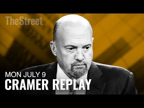 Jim Cramer on Tariffs, Yield Curve, General Electric, Groupon and Adobe